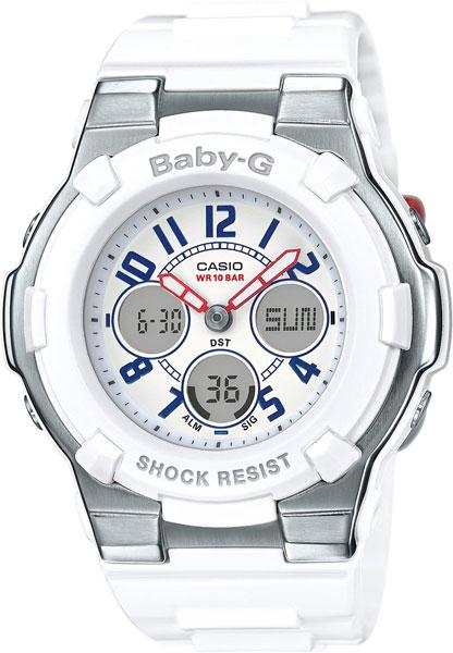 Женские часы Casio BGA-110TR-7B casio часы baby g bga 110tr 7b