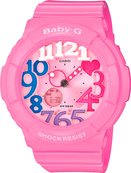 Женские часы Casio BGA-131-4B3 casio bga 131 4b3