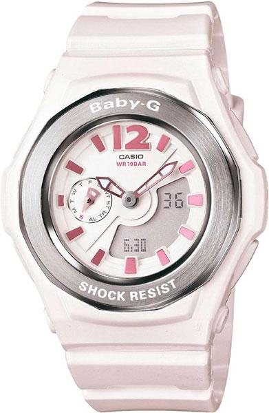Женские часы Casio BGA-142-7B часы наручные casio часы baby g ba 120tr 7b