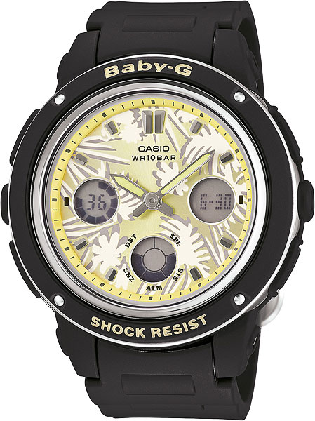 Женские часы Casio BGA-150F-1A casio bga 150f 3a casio