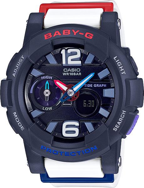где купить Женские часы Casio BGA-180-2B2 по лучшей цене
