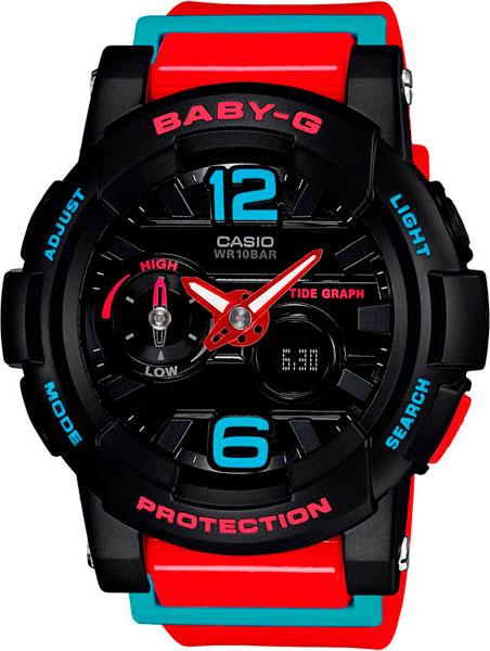 Женские часы Casio BGA-180-4B casio bga 200dt 2e