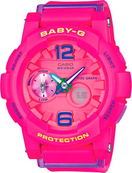 где купить Женские часы Casio BGA-180-4B3 по лучшей цене