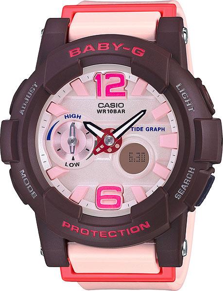 купить Женские часы Casio BGA-180-4B4 недорого