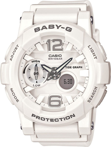Женские часы Casio BGA-180-7B1 часы casio bga 210 7b1