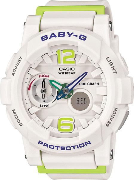 Женские часы Casio BGA-180-7B2 casio bga 180 7b2 casio