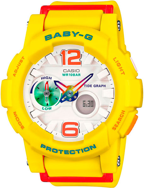 Женские часы Casio BGA-180-9B casio bga 180 9b