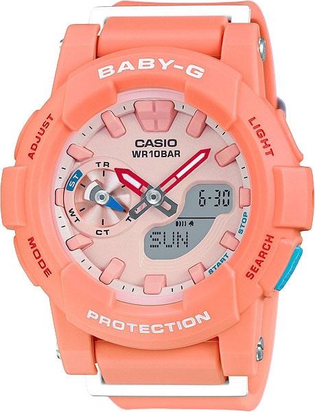 Женские часы Casio BGA-185-4A casio baby g bga 185 4a