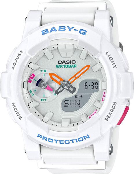 Женские часы Casio BGA-185-7A casio sheen multi hand shn 3013d 7a