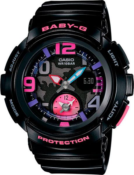 Женские часы Casio BGA-190-1B цена в Москве и Питере