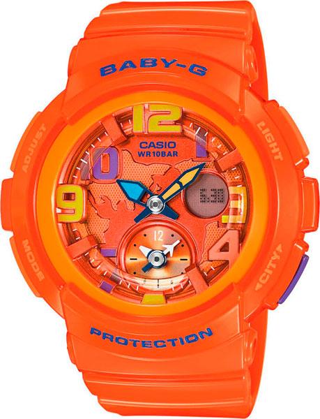 Женские часы Casio BGA-190-4B casio casio bga 160 4b