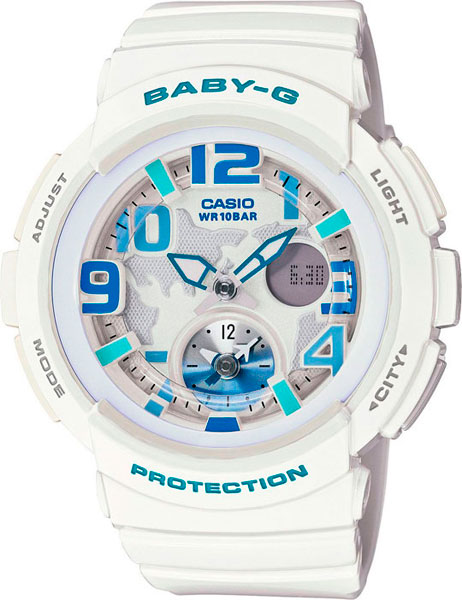 Женские часы Casio BGA-190-7B часы наручные casio часы baby g ba 120tr 7b