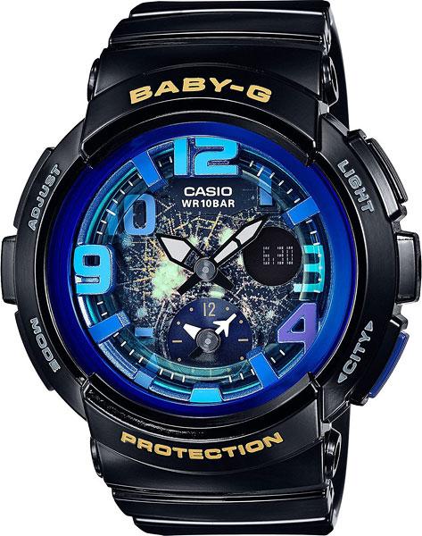 Женские часы Casio BGA-190GL-1B швабра loks super cleaning с насадкой для отжима цвет розовый l10 2757 11