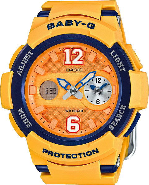 Женские часы Casio BGA-210-4B casio bga 210 4b