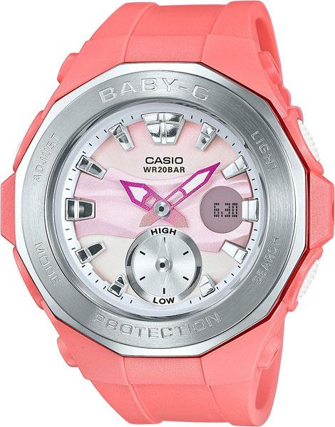 Женские часы Casio BGA-220-4A casio baby g bga 220 4a