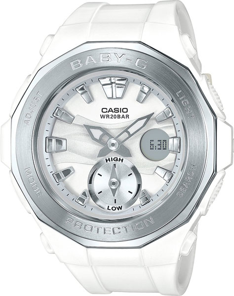 Женские часы Casio BGA-220-7A casio sheen multi hand shn 3013d 7a