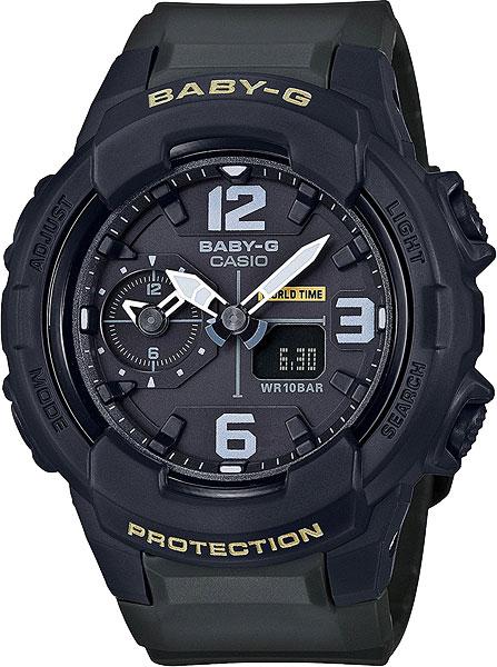 Женские часы Casio BGA-230-3B часы наручные casio часы baby g ba 120tr 7b