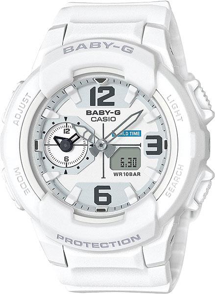 Женские часы Casio BGA-230-7B наручные часы casio bga 131 7b