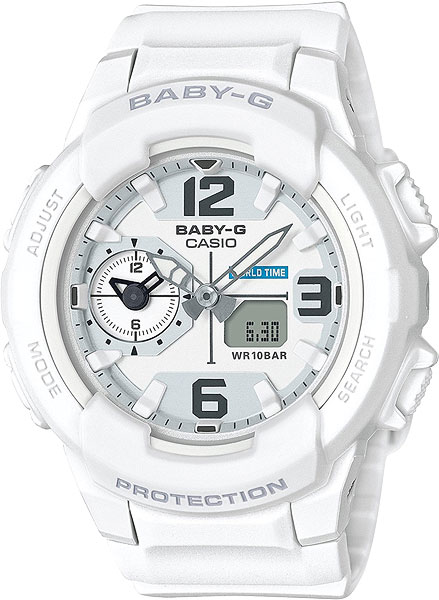 Женские часы Casio BGA-230-7B casio часы casio bga 110tr 7b коллекция baby g