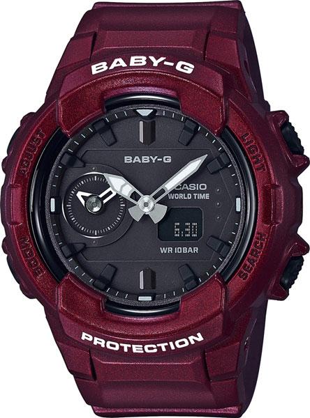 Женские часы Casio BGA-230S-4A casio bga 220 4a