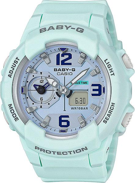 Женские часы Casio BGA-230SC-3B casio bga 200dt 2e