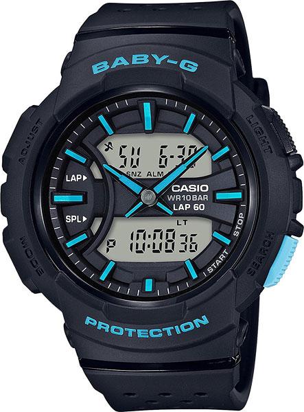 Женские часы Casio BGA-240-1A3 casio gst w130bc 1a3