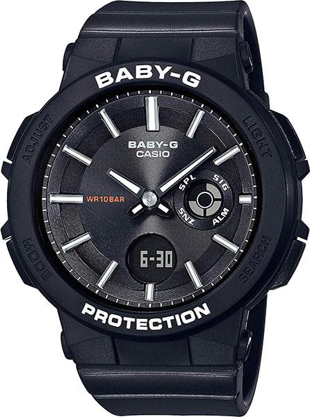 Женские часы Casio BGA-255-1A casio bga 195m 1a