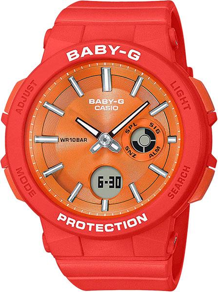 Женские часы Casio BGA-255-4A casio bga 220 4a