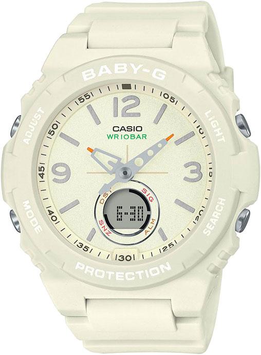 Японские женские часы в коллекции Baby-G Женские часы Casio BGA-260-7AER фото