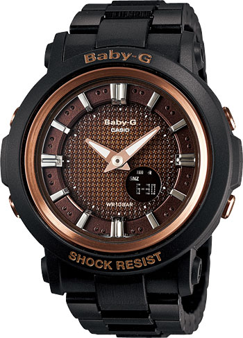 Женские часы Casio BGA-301-1A casio bga 150f 1a