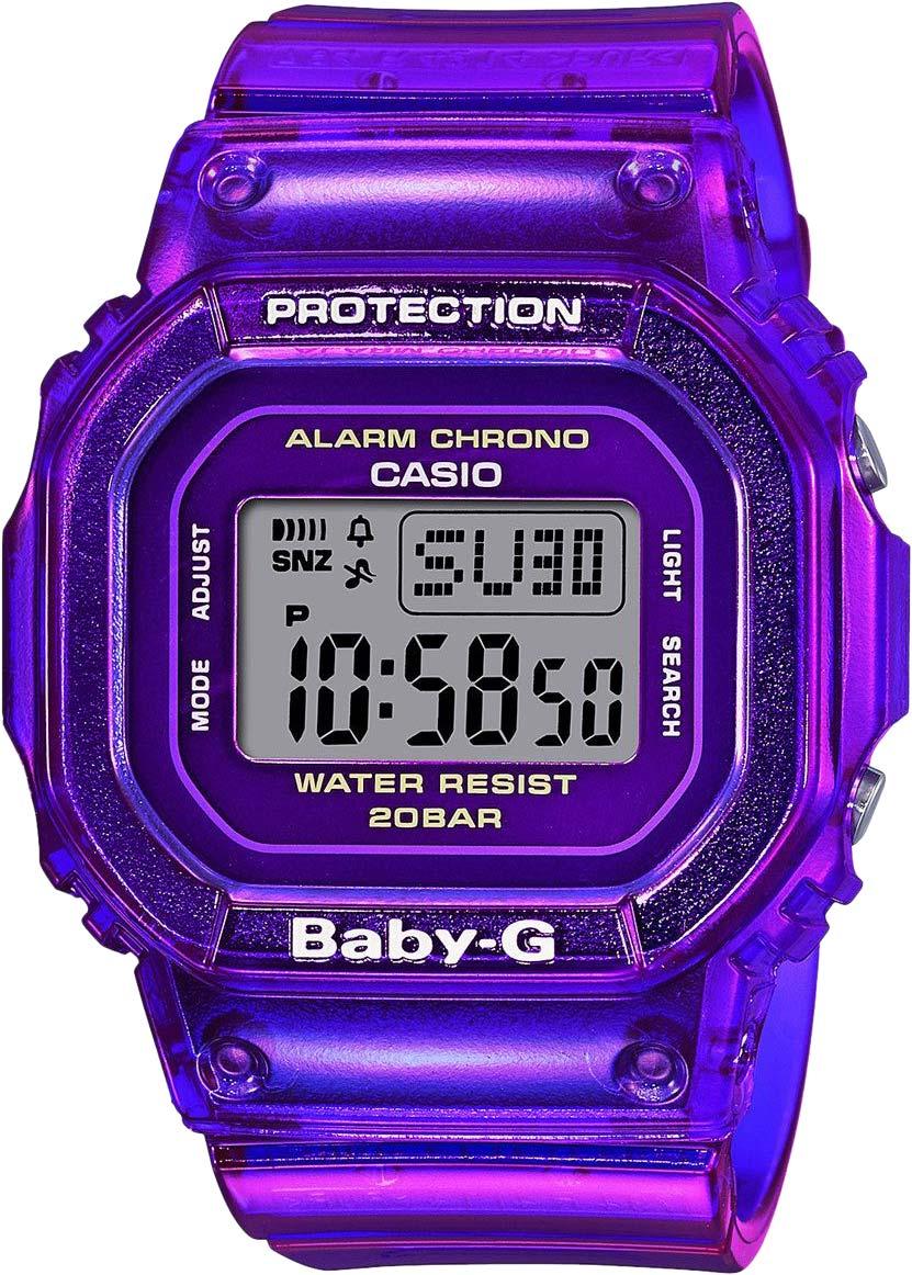 Женские часы Casio BGD-560S-6ER женские часы casio bgd 560slg 4d