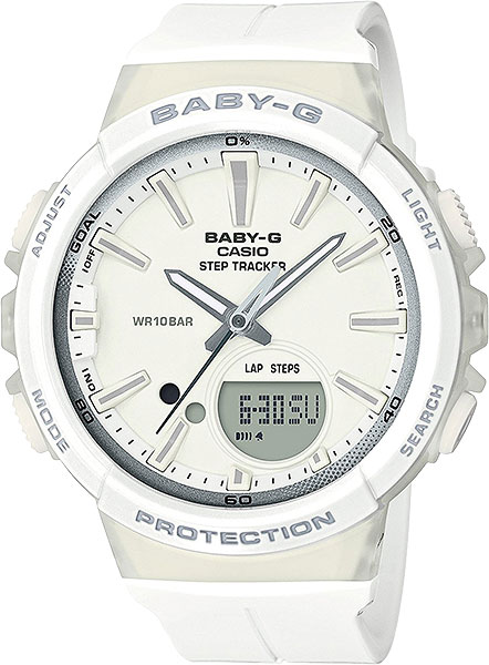 Женские часы Casio BGS-100-7A1 часы наручные casio часы baby g ba 120tr 7b