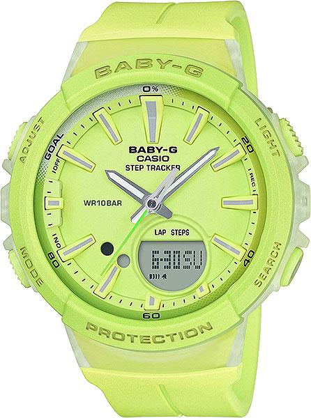 Женские часы Casio BGS-100-9A часы casio bgs 100 9a цв зеленый кварцевые минеральное стекло
