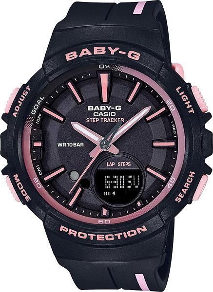 Женские часы Casio BGS-100RT-1A часы наручные casio часы baby g ba 120tr 7b