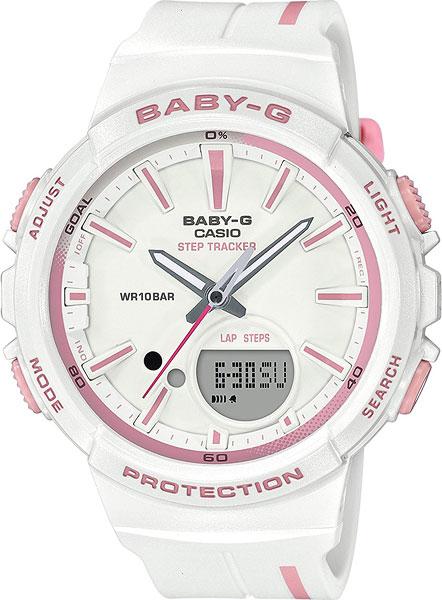 цена Женские часы Casio BGS-100RT-7A онлайн в 2017 году