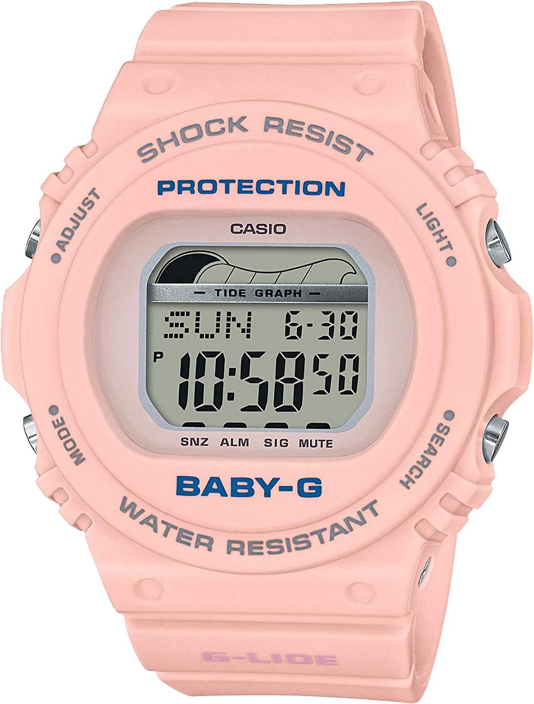 Японские женские часы в коллекции Baby-G Женские часы Casio BLX-570-4ER фото