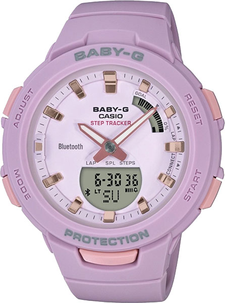 Женские часы Casio BSA-B100-4A2