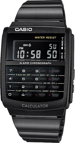Мужские часы Casio CA-506B-1A все цены