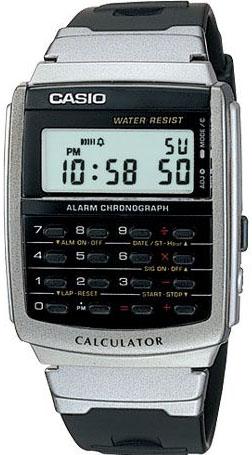 Мужские часы Casio CA-56-1U casio casio collection ca 53w 1