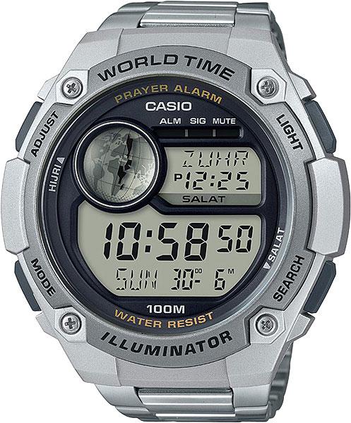 Мужские часы Casio CPA-100D-1A casio часы casio cpa 100d 1a коллекция digital