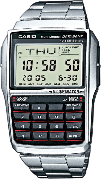 Мужские часы Casio DBC-32D-1A casio dbc 611ge 1e