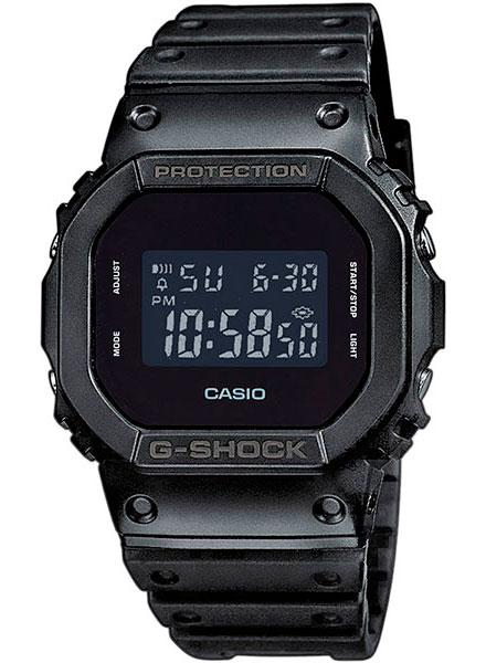 Мужские часы Casio DW-5600BB-1E часы casio gw m5610 1e