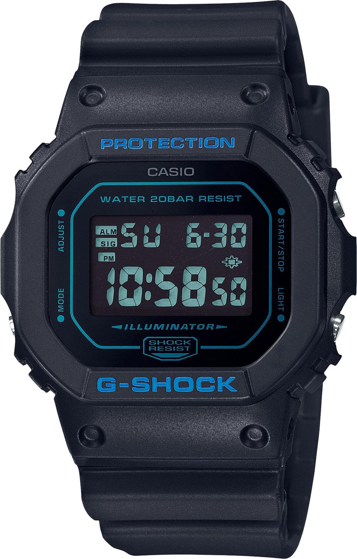 Мужские часы Casio DW-5600BBM-1ER наручные часы casio dw d5500bb 1er