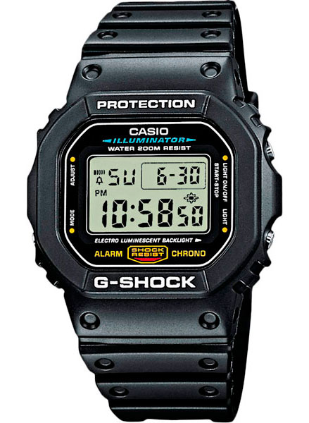 ������������������� ���� ��� ������ Casio G-SHOCK DW-5600E-1V