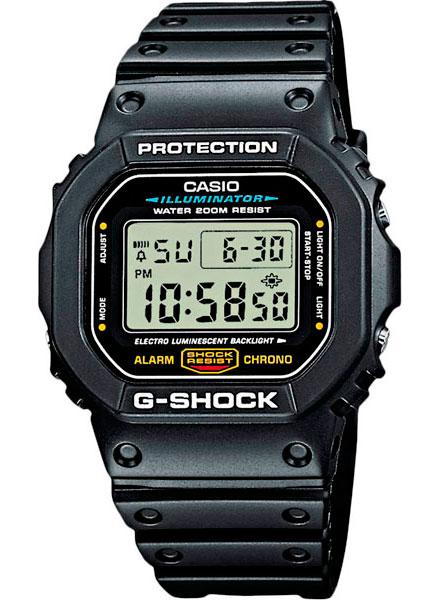 Мужские часы Casio DW-5600E-1V мужские часы casio dw 6900zb 2e