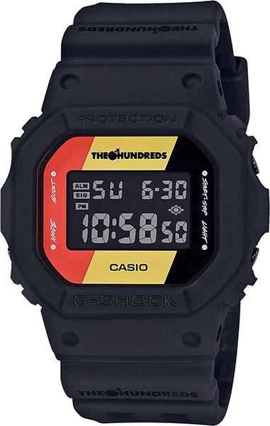 Мужские часы Casio DW-5600HDR-1E часы casio dw 6900bb 1e черный
