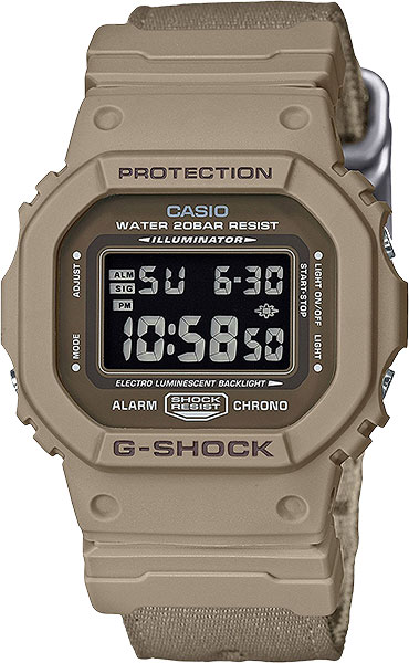 Мужские часы Casio DW-5600LU-8E matilda level 3