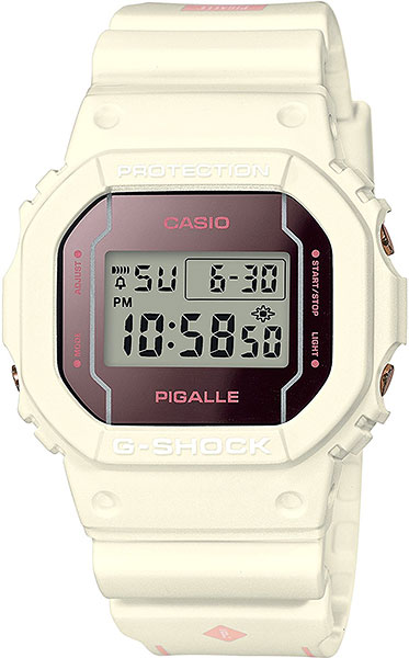 где купить Мужские часы Casio DW-5600PGW-7E по лучшей цене