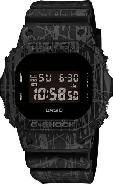 Мужские часы Casio DW-5600SL-1E casio prw 3500y 1e