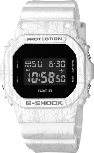 Мужские часы Casio DW-5600SL-7E все цены